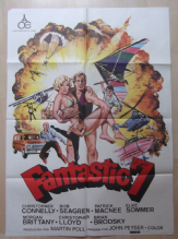 Fantastic 7, Original Movie Poster, Chris Connelly, Christopher Lloyd, '79